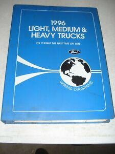 1996 FORD LIGHT MEDIUM HEAVY DUTY TRUCK WIRING DIAGRAMS SERVICE ... volvo truck warning symbols eBay