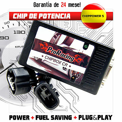 Chip de Potencia RENAULT SCENIC II 1.5 DCI 106 CV Tuning Box ChipTuning /CR1