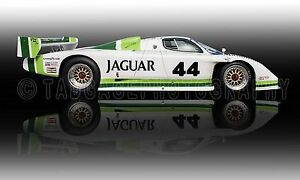 1983 Jaguar XJR-7 IMSA GTP Vintage Classic Race Car Photo ...