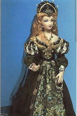 1:12 scale Miniature Doll Art Tutorials ~ Patterns ~ Clothes//Hair PAVAN FAIRIE