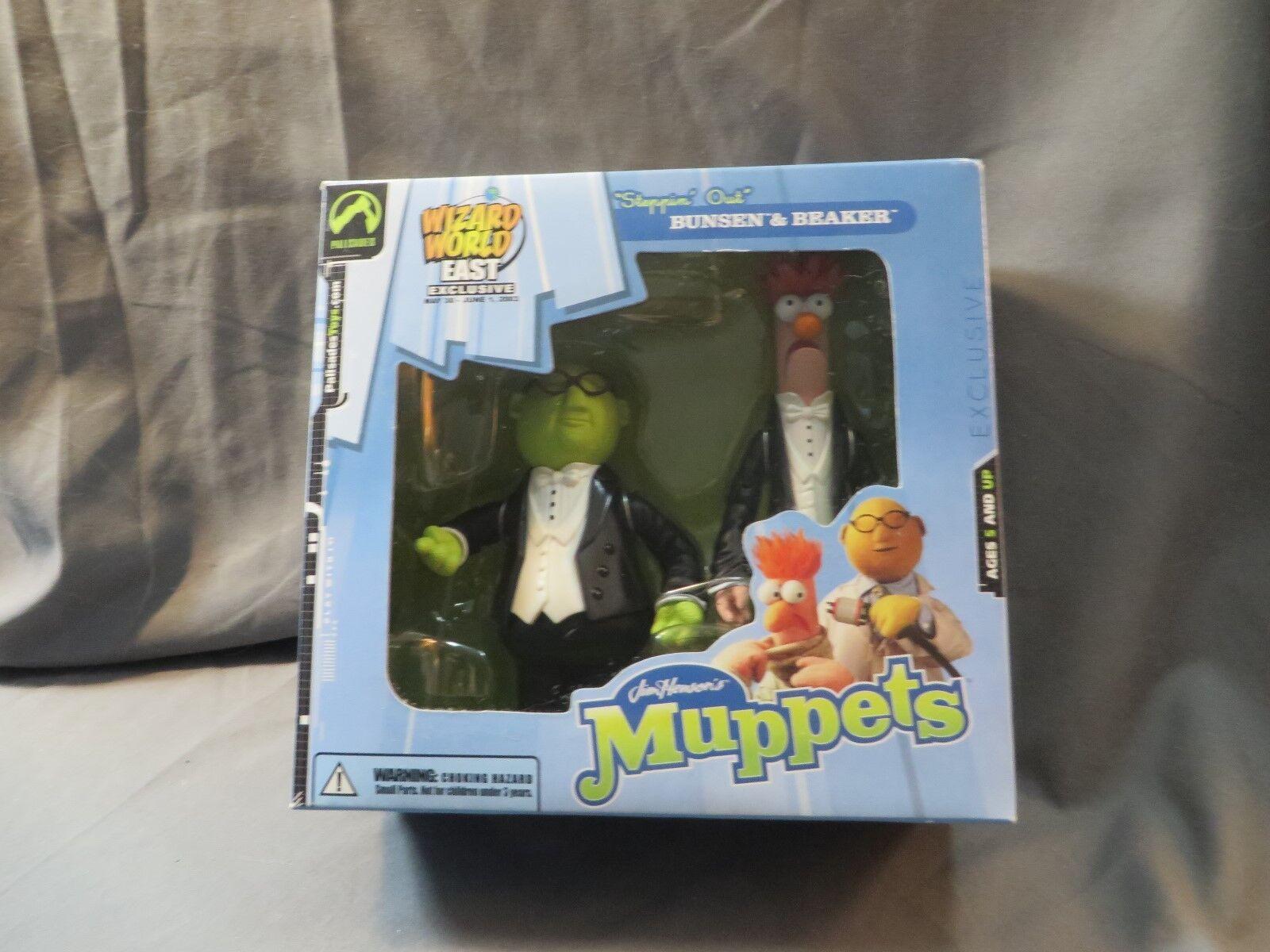 Palisades Muppets WIZARD WORLD East Steppin out  BUNSEN & Bécher DGSIM