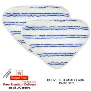 Hoover 35601658 AC33 Textile Pads Blue 2 White Grey