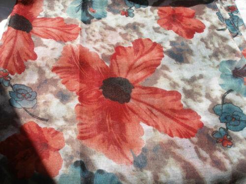 Rosa Giallo Bianco Multi Tie Dye Floreale Argento Leggero Donna Sciarpa Pashmina
