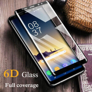 6D-Full-Cover-Curved-Temper-Glass-Screen-Protector-For-Samsung-S9-S8-S6-S7-Edge
