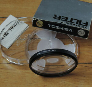 neuf 55 mm Filtre Toshiba Rouge R2 new
