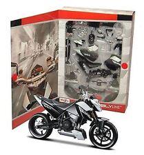 MAISTO ASSEMBLY LINE KTM 690 DUKE MOTORCYCLE 1:12 SCALE MODEL KIT NIB