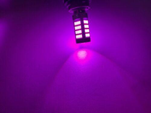 Front Signal Light 1157 2057 2357 3496 7528 92 BAY15D Purple LED Bulb W1 JA