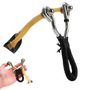 Fionda di Precisione in Acciaio Inox Catapulta Caccia Sport Gioco