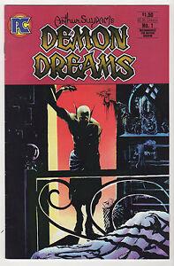 ARTHUR-SUYDAM-Demon-Dreams-1-amp-2-Alien-bonus-FN-VF-1984-Pacific-comics-LOT-6