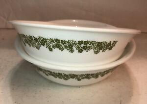 Corelle Spring Blossom Crazy Daisy Green Cereal Bowl