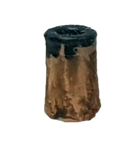 TD01 6 x  small round chimney pots 3d printed TT scale model railway scenics