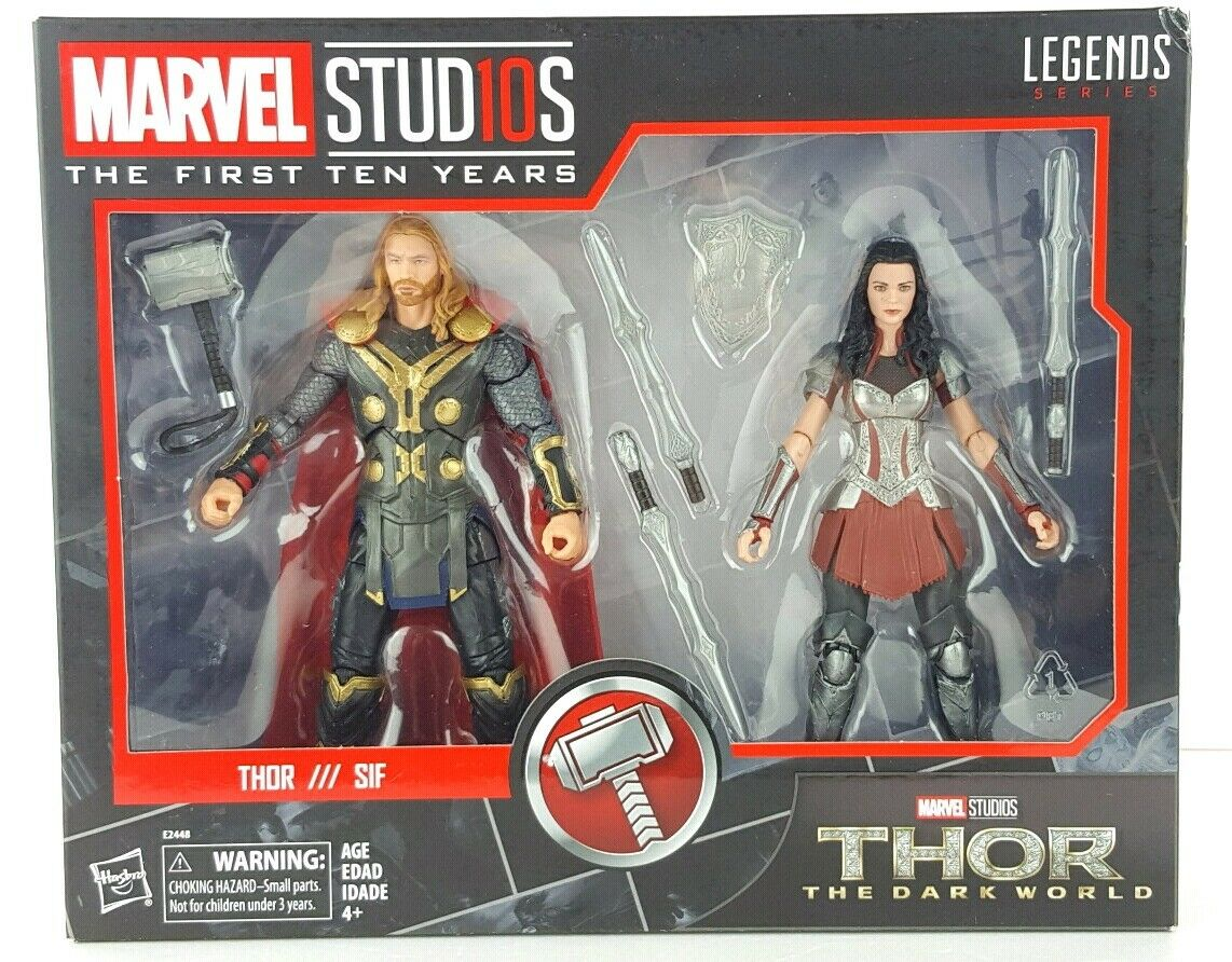 Marvel Studios  The First Ten Years Thor  The Dark World Thor & Sif Kids Gift