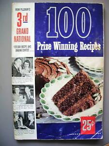 First prize cookbook