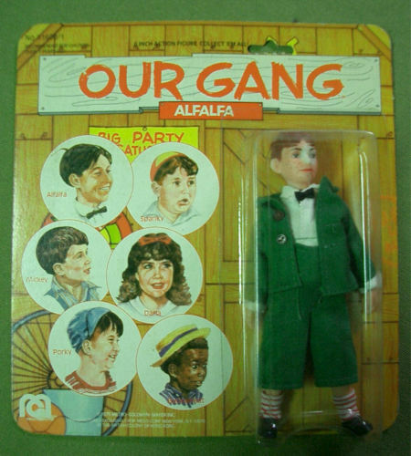 VINTAGE MEGO OUR GANG ALFALFA 6 PULGADAS 1975 MOC RARO