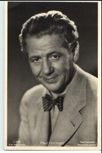 1950-60-Portraet-AK-Film-Buehne-Theater-Schauspieler-PAUL-HORBIGER-Foto-Verlag