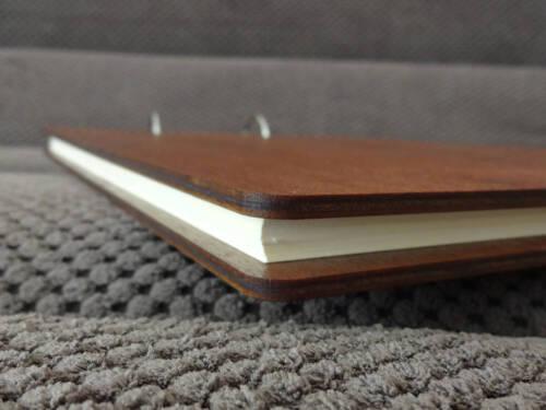 Custom Wedding Guest Book Rustic Wedding Guestbook Bridal Shower Book Hearts