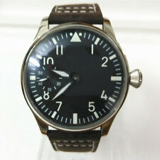 44mm ASIAN UNITAS 6497 MOVEMENT PARNIS BIG PILOT HOMAGE WATCH SUPERB