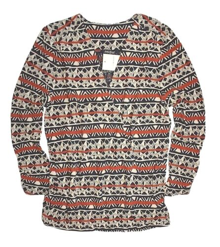 Xl Lucky Etichetta Triangolo Righe Con Nuova Southwest Brand Cotta Donna A rUqwErp