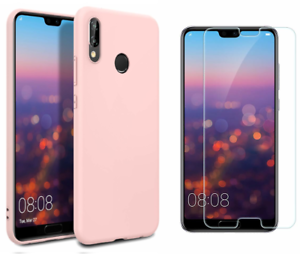 coque silicone rose huawei p20