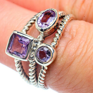 Amethyst-925-Sterling-Silver-Ring-Size-7-25-Ana-Co-Jewelry-R38405F