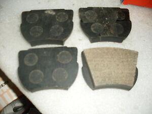 FORD-CORTINA-Mk1-GT-amp-LOTUS-CLASSIC-CORSAIR-GT-SET-QUALITY-ORIGINAL-BRAKE-PADS