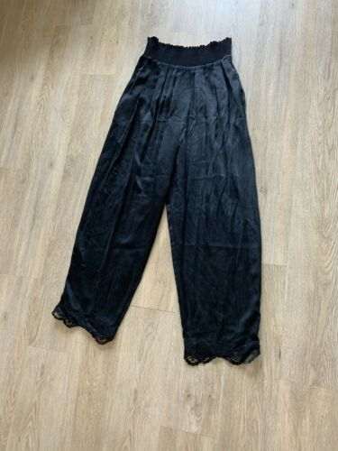 Vintage SUE WONG silk Pants High Waisted VINTAGE