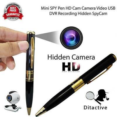 Mini HD 1080P 30FPS Spy DVR Hidden Camera Pen USB DV Audio Video Recorder 【US】