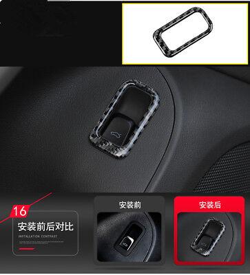 Carbon Fiber Gear Shift Dashboard Frame Cover  Trim für Ford Mustang A14