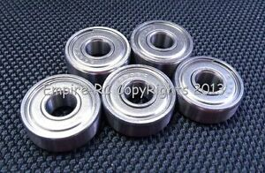 6x19x6 mm QTY 10 S626zz 626zz 440C Stainless Steel Ball Bearing Bearings