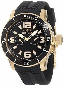Invicta Specialty 18k Gold Ion Plated Mens Watch 1792 /1726425