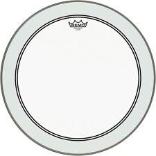 """22/"""" Diameter Remo Pinstripe Bass Drumhead Clear"""