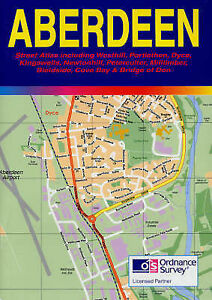 Aberdeen Street Atlas, , Very Good Book