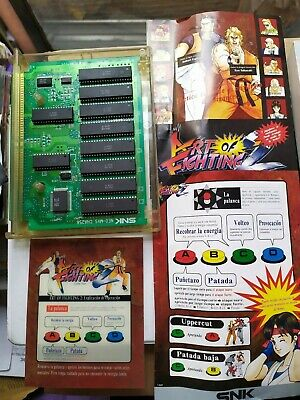 Art Of Fighting 2 Neo Geo Mvs Snk Ebay