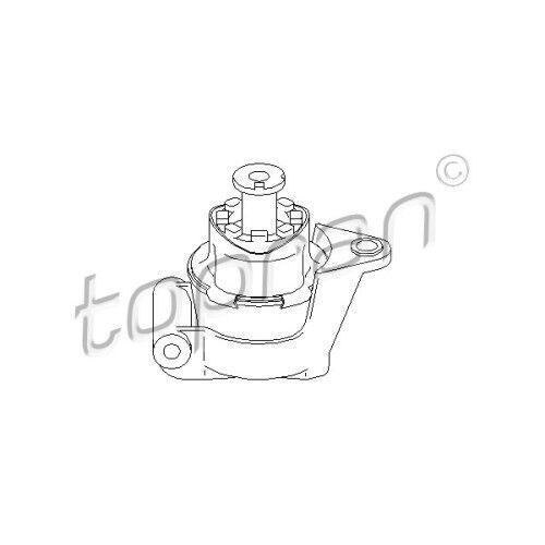 Lagerung Motor vorne links Topran 201 401