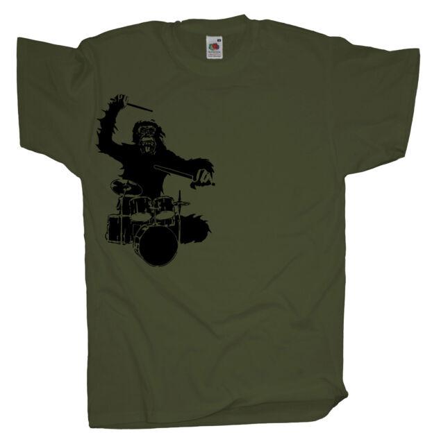 Hardworker Ape Herren Fun T-Shirt Boss Chef Affe Arbeit Büro Gorilla PAPAYANA