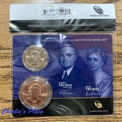 2015 HARRY S TRUMAN PRESIDENT DOLLAR P or D MINT 1-COIN BRILLIANT UNCIRCULATED