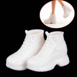 10-Pairs-White-Doll-Sneakers-Shoes-Dolls-Accessories-ME