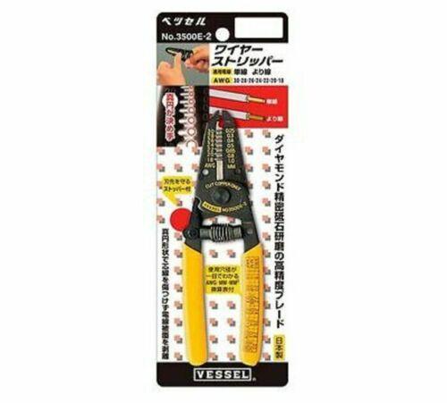 VESSEL 3500E-2 Wire Stripper universal mini micro crimping tool