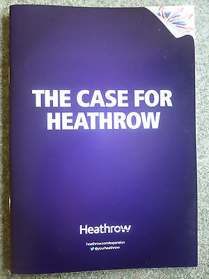 Helpful Heathrow Airport Expansion Third Runway 24 Page Update Info Guide Booklet