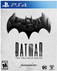 Batman The Telltale Series PS4 (Sony PlayStation 4, 2016) Brand New /Region Free