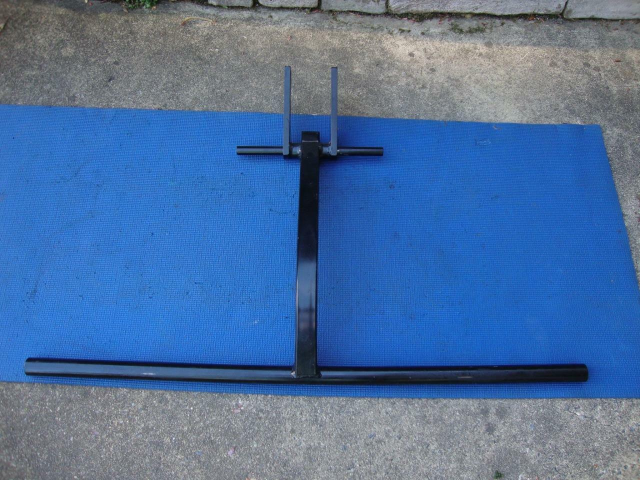 Awesome SOLOFLEX Squat bar   Barbell Arm Attachment  Cross-Fit - Will ship