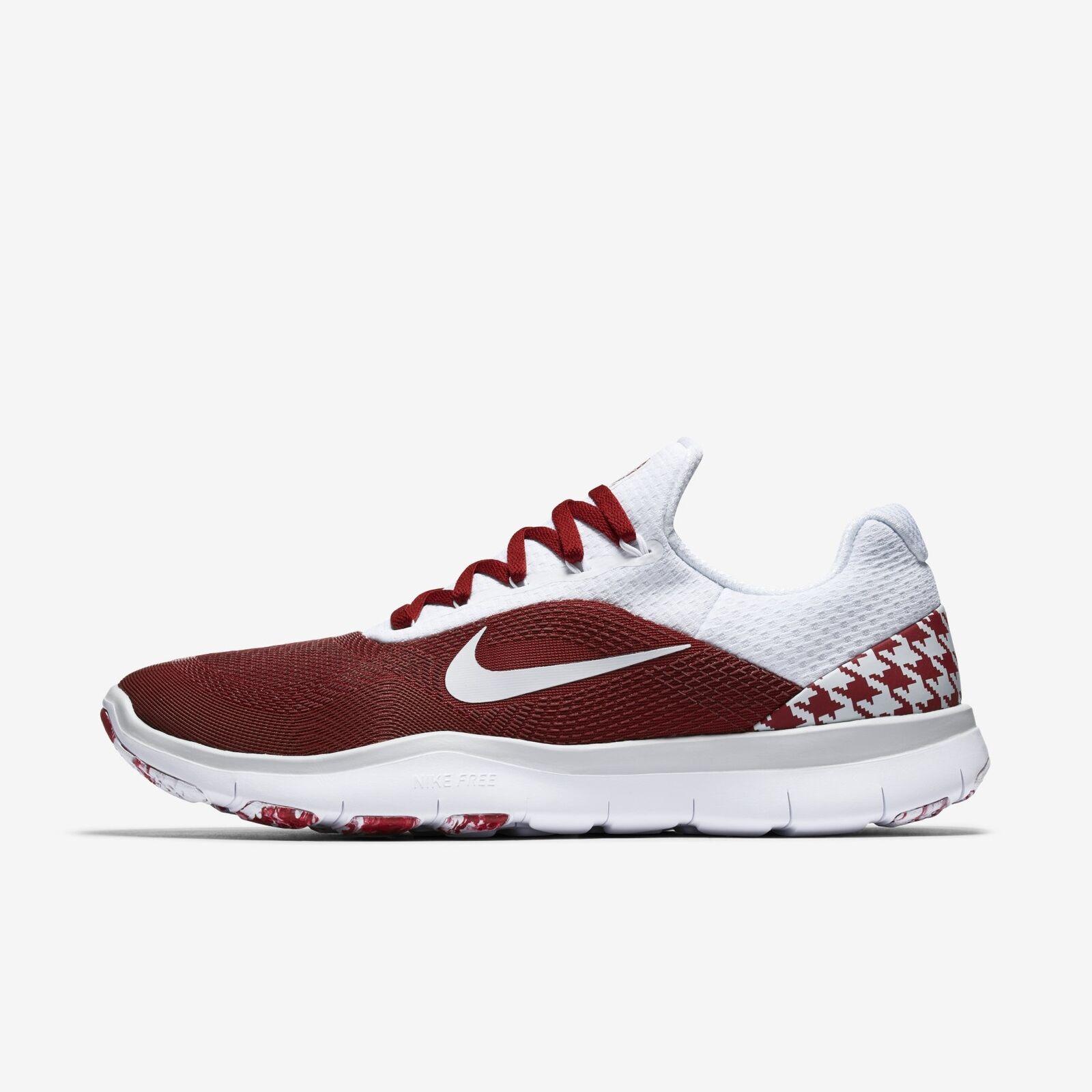 Men's Nike Free Trainer V7 Week Zero shoes Crimson White Size 9.5 AA0881 603 NIB