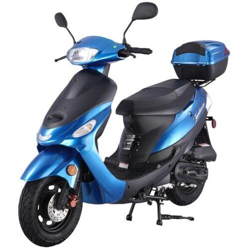TAOTAO ATM SPEEDY PONY 50cc SCOOTER MOPED FRONT WHEEL FENDER *OEM* BLUE