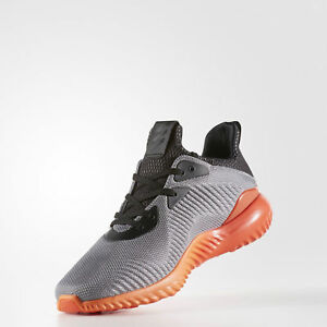 ADIDAS ALPHABOUNCE 1 LOW RUNNING SNEAKERS MEN SHOES GREY BB9039 SIZE 9 NEW