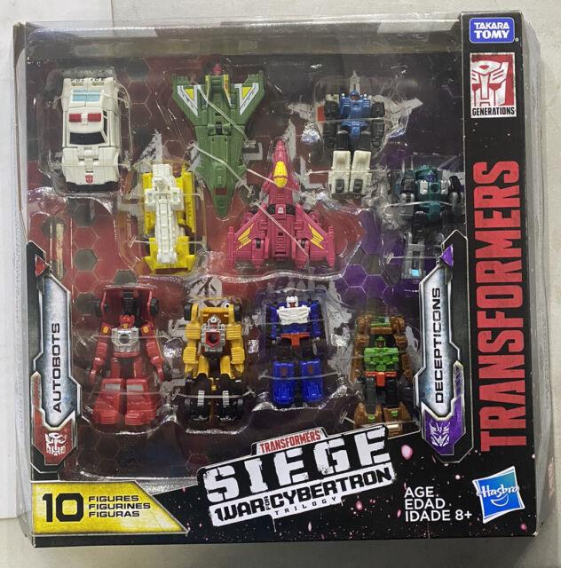 Transformers Siege War For Cybertron Trilogy 10 Figures E7670