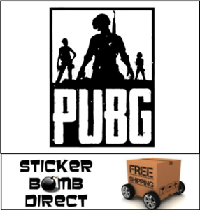 PLAYERUNKNOWN/'S BATTLEGROUNDS Decal PUBG Logo Sticker PvP Twitch Popular Loot