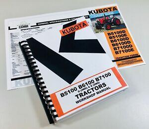 Kubota-B6100-B6100D-B6100E-Tractor-Service-Workshop-Repair-Manual