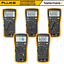 Fluke-113-114-115-116-117-True-RMS-Digital-HVAC-Multimeter-with-Test-Leads thumbnail 1