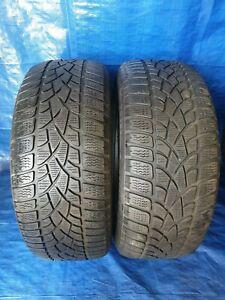 2-x-Pneus-hiver-Dunlop-SP-Sports-D-039-Hiver-3d-225-55-r17-97-H-DOT-12-RSC-5-5-mm