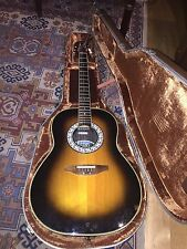 OVATION GUITARS ULTRA 1517 - 1984 - MADE IN USA - ELETTRIFICATA - SN. 320530